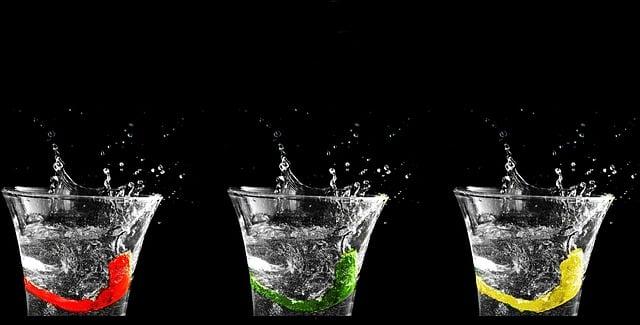 Wasser für strahlenden Teint