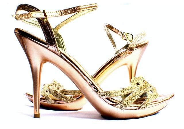 schlanker wirken mit high heels