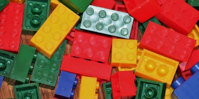 Bild Legosteine